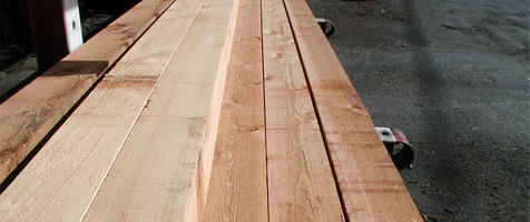 knotty timbers | products | cowichan lumber